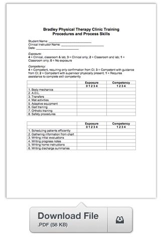 Download Training Procedures Form
